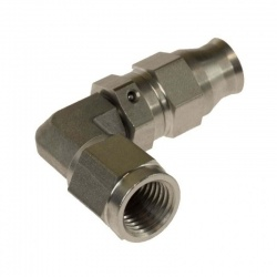 Motamec -04 JIC Concave Stainless 90 Deg Female Fitting