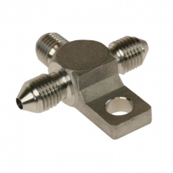 Motamec -03 JIC Equal Stainless Steel Tee Adaptor