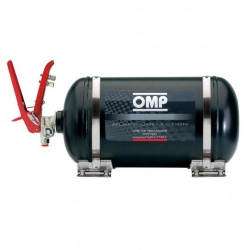 OMP Black Collection 4.25ltr Mechanical Fire Extinguisher System