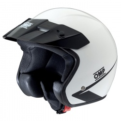 OMP Star Helmet White
