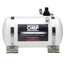 OMP White Collection 4.25ltr Electrical Fire Extinguisher System
