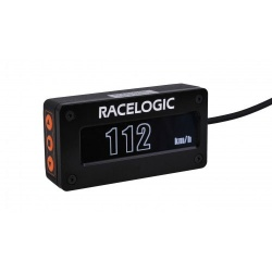 Racelogic Black OLED Predictive Lap Time Display