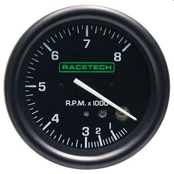 Racetech 80mm Electronic Shift Light Rev Counter