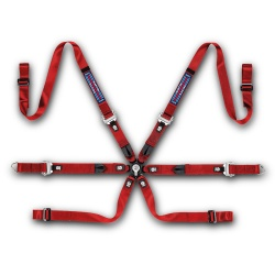 Sparco Martini Racing Prime H-9 Ultralight 6 Point FHR Harness