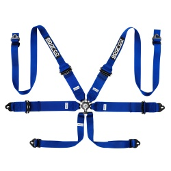 Sparco Pro Racer 6 Point Alloy FHR Harness
