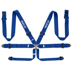 Sparco Pro Racer Alloy 6 Point Harness