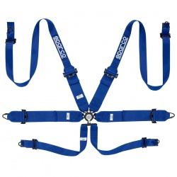 Sparco Pro Racer Steel 6 Point HANS Harness