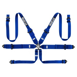 Sparco Pro Racer 6 Point Steel FHR Harness