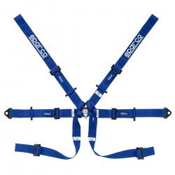Sparco Single Seater 6 Point HANS Harness