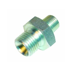 Sytec 1/4 NPTF to 1/4 BSP Straight Steel Union