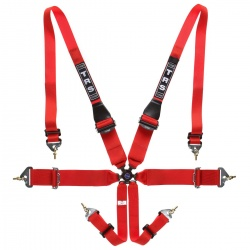 TRS Magnum Superlite 6 Point HANS Harness