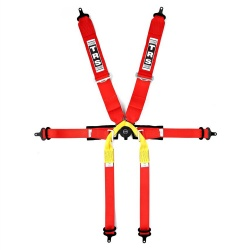 TRS Pro 6 Point Single Seater Harness
