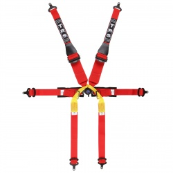TRS Pro Superlite 6 Point Single Seater HANS Harness