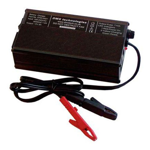 DMS Varley Red Top Three Stage Battery Charger