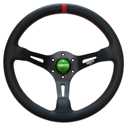 Vento Vendetta Leather Steering Wheel