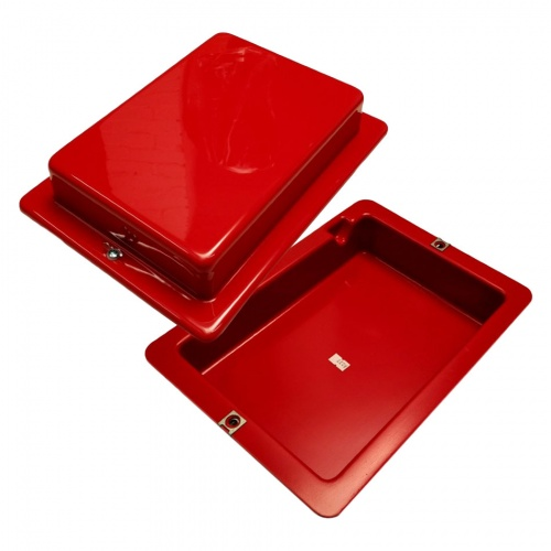 Red Top 30 Battery Box Bright Red