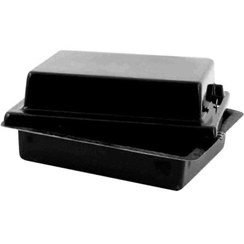 Red Top 40 Battery Box Gloss Black