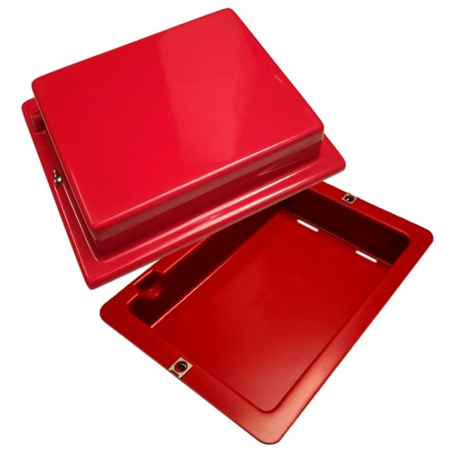 Red Top 40 Battery Box Bright Red